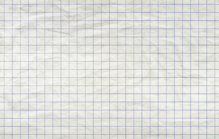 Old squared paper sheet, seamless background photo texture