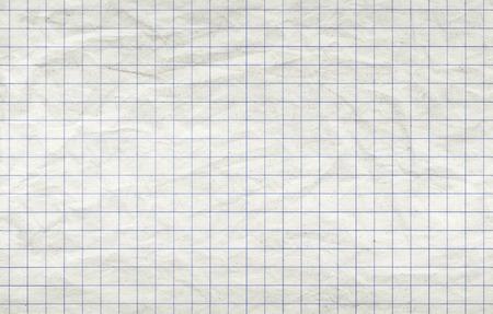 Vieja hoja de papel cuadrado, de fondo sin fisuras textura de la foto Foto de archivo