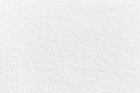 White natural cotton towel  background, closeup photo texture
