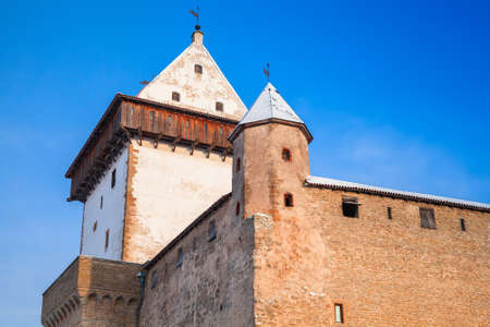 herman: Herman castle or Hermanni linnus in Narva. Estonia