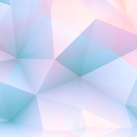 cg: Abstract positive colorful digital 3d polygonal background, modern computer graphic illustration Stock Photo
