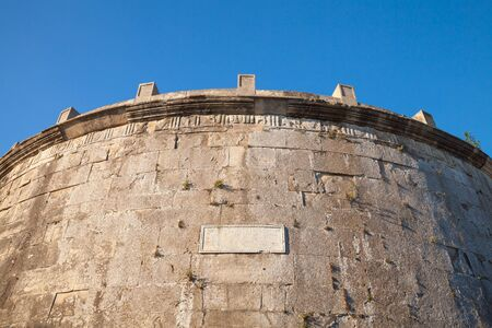 1st century: The Mausoleum of Lucius Munatius Plancus on Mount Orlando, in Gaeta. It is the tomb of a Roman man of huge military virtue and political ability, he lived between in the end of the 1st century BC