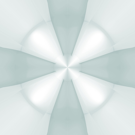 propulsion: Abstract light blue propulsion background pattern. 3d illustration Stock Photo