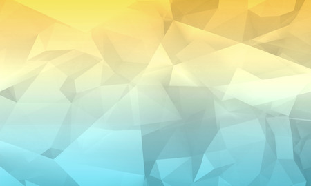 bg: Abstract colorful digital 3d chaotic polygonal background, modern computer graphic pattern useful as a wallpaper Stock Photo