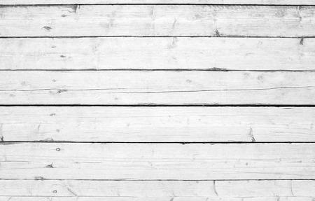 Vecchia parete di legno con vernice bianca, foto di sfondo trama