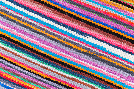 rug texture: Colorful abstract patchwork rug pattern, background photo texture Stock Photo