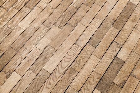 tiling background: Old wooden parquet pattern, oak wood tiling. Background photo texture