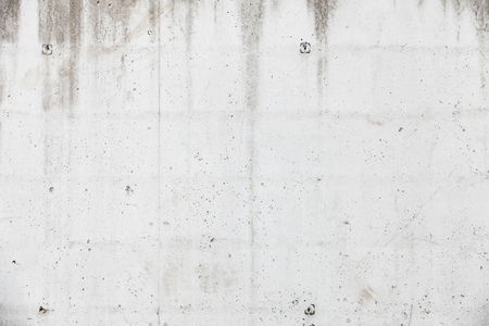 renovate old building facade: White concrete wall, background photo texture