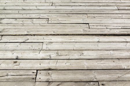 uncolored: Uncolored old gray wooden floor. Background photo texture Stock Photo