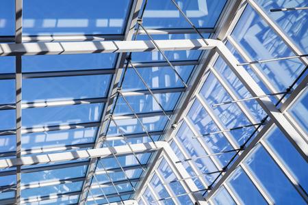 Fondo De Arquitectura Moderna De Alta Tecnología Estructura
