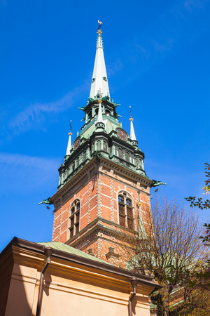 gothic revival: The German Church, also called called St. Gertrudes Church in Gamla stan, the old town in central Stockholm, Sweden