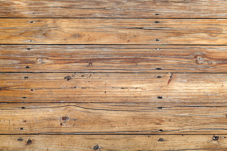 Uncolored old wooden floor, flat background photo texture