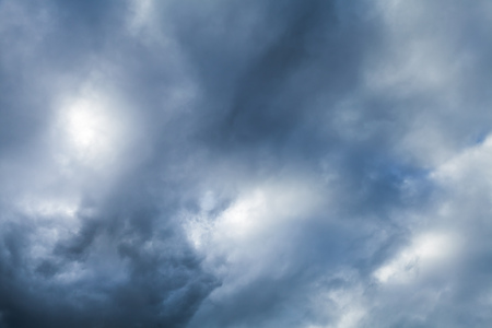 Dark dramatic sky with stormy clouds, abstract nature background photo Reklamní fotografie
