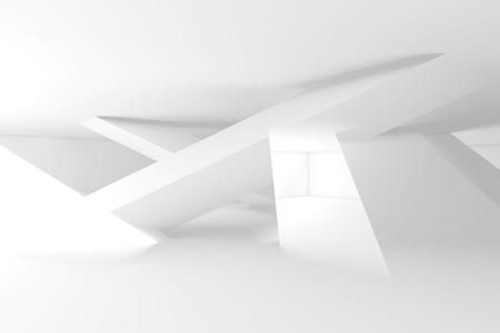 교차 디지털 기하학적 구조, 3d 일러스트 레이 션, 이중 노출 효과, 블루 톤의 추상 디지털 배경 스톡 콘텐츠