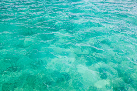 Bright Atlantic Ocean water surface, background photo texture