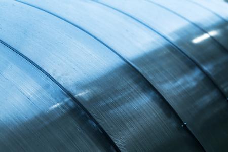Polycarbonate sheeting as a part of modern greenhouse construction Фото со стока - 92105443