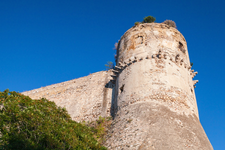 Aragonese-Angevine Castle of the houses of Anjou and Aragon in Gaeta, Italy. Most likely it was built in the 6th century, in the course of the Gothic War Editorial