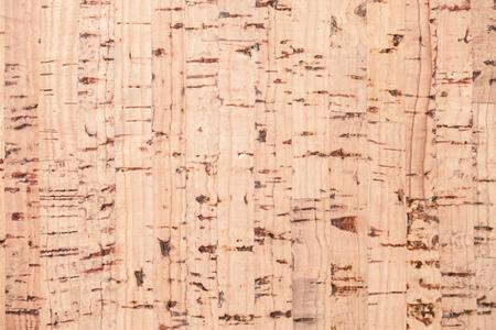 Flat cork plank, background photo texture