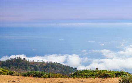 Coastal landscape of Madeira Island at summer day, Portugal