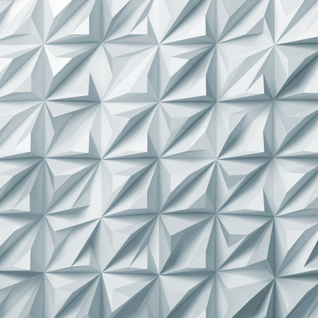 Light blue toned digital relief pattern. Abstract cg background texture, square 3d render illustration