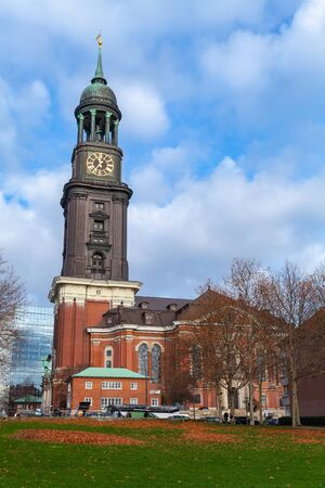 St. Michael Church colloquially called Michel, one of Hamburg five Lutheran main churches and the most famous church in the city
