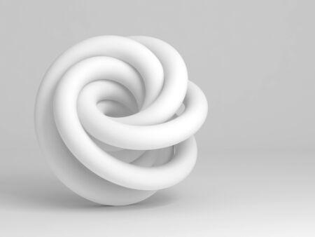 Geometrical representation of a torus knot.