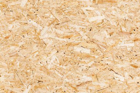 Holzorientiertes Strandbrett oder OSB. Sterling Board nahtlose Hintergrundfototextur