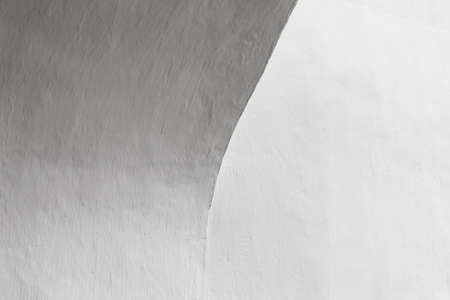 Abstract white architectural background, arch fragment in a blank interior 版權商用圖片