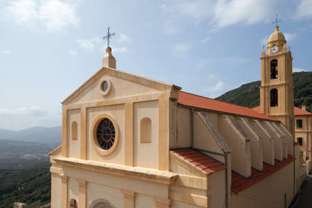 Church of the Assumption of the Most Holy Virgin known as the Church of Santa Maria Assunta of Olmeto, Corse-du-Sud department of France on the island of Corsica