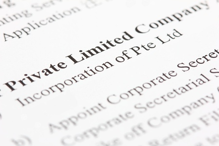 limited: Incorporation of a private limited company