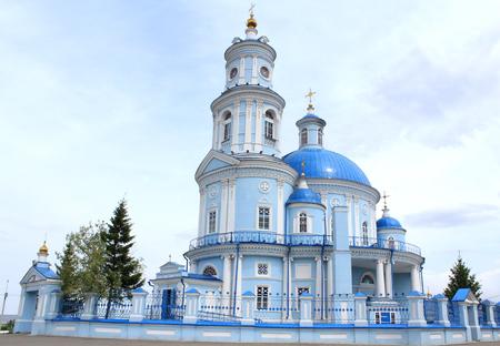 kazan: Telminskaya Kazan Church Stock Photo