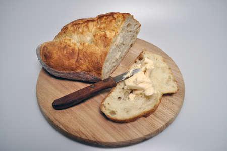 white and black bread - ruddy, fried, crispy