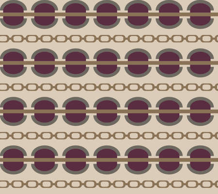 Plum and rose color seamless vector pattern, haute couture fabric pattern, geometric fashion textile  イラスト・ベクター素材