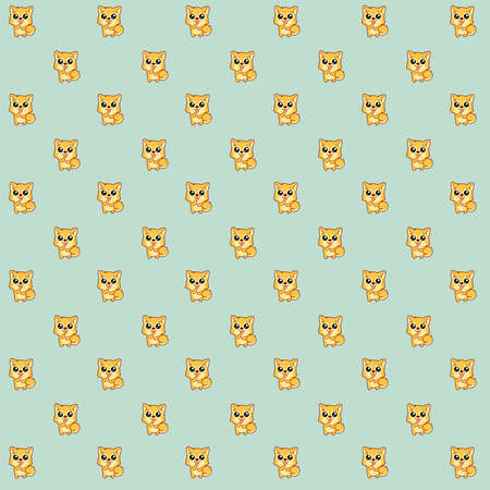 Pattern made of a kawaii illustration of Hachikō, the legendary dog remembered for his remarkable loyalty to his owner, for whom he continued to wait for over nine years following his death in Shibuya, Japan.  His heroic story inspired me my whole life. So I wanted to do this tribute to Hachikō now, because of the 2018 Chinese Year of the Dog.