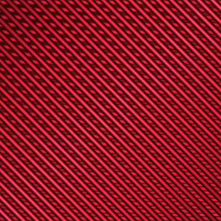 Abstract background of red metal stripes vector