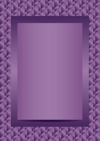 page layout: Violet text or photo frame portrait design vector