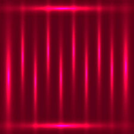 fluorescence: Dark red abstract glowing lines background Illustration