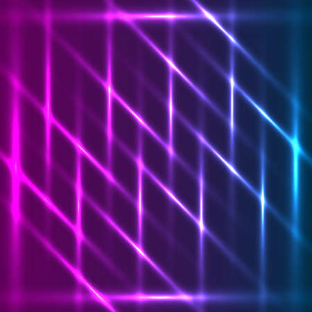 diagonal lines: Violet-blue abstract glowing diagonal lines background