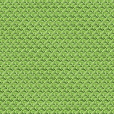Abstract background of green metal rectangles