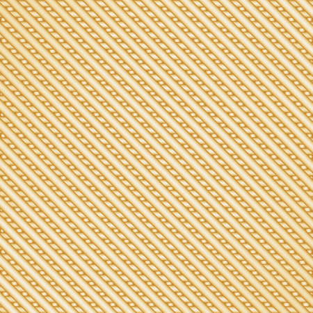 Abstract background of gold metal stripes
