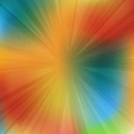 Geometric abstract background with rays Ilustrace