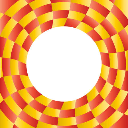 radial background: Colorful abstract radial background with placeholder in the center