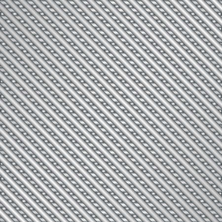 Abstract background of diagonal silver metal stripes Illustration