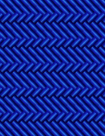 metallic stairs: Abstract wicker background of blue color with straw effect Illustration