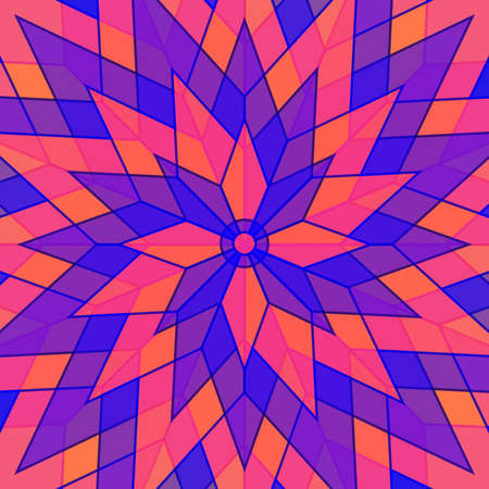 Abstract colorful flower style background