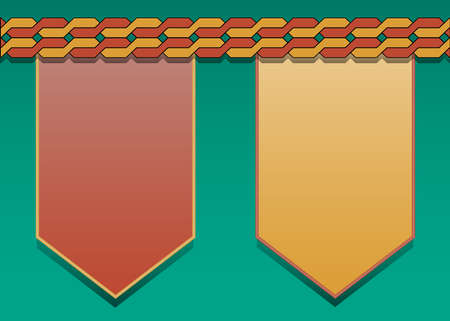 Modern presentation template for business design Vector