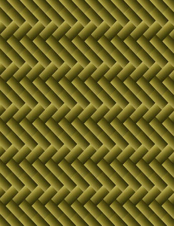 Abstract wicker background of khaki color Vector