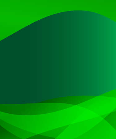 waved: Abstract green background with waved gradient design