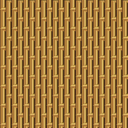 Abstract golden background with triangles and bars
