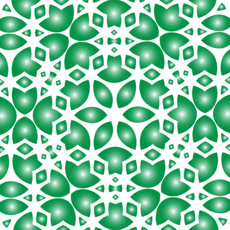 patrics: Abstract green flower lace background vector design Illustration